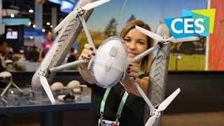 PowerEgg X: il drone ibrido che sfida la pioggia! | CES 2020 ita