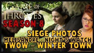 Game of Thrones Filming News: Siege, Night's Watch, Melisandre, & tWoW (SPOILERS)