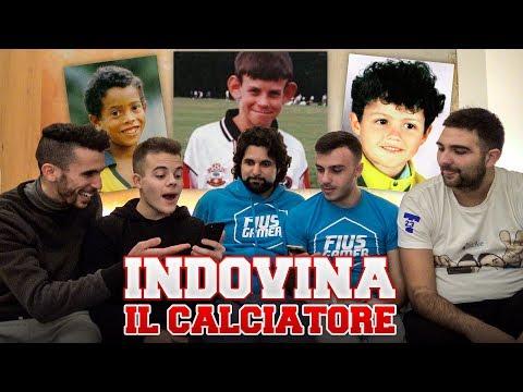 INDOVINA il CALCIATORE da BAMBINO!!! w/ Fius Gamer, Ohm, T4tino23