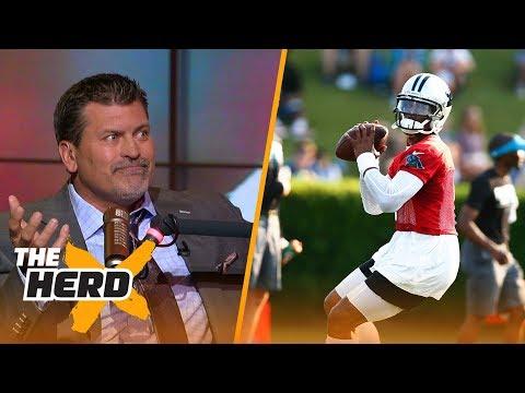 Mark Schlereth on if Cam Newton can bounce back, Josh Rosen and Colin Kaepernick   THE HERD