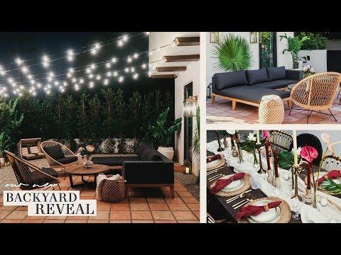 BACKYARD MAKEOVER! 2019 Small Backyard Renovation & Ideas