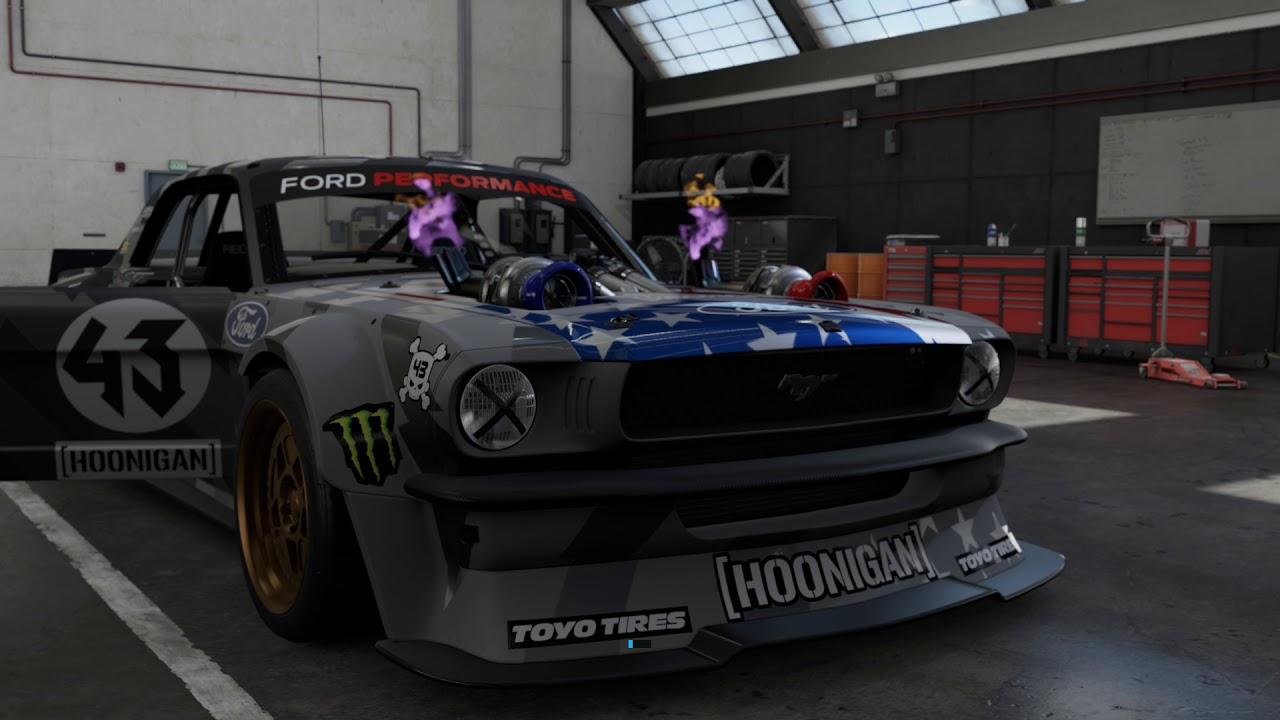 Forza 7 Hoonigan Mustang