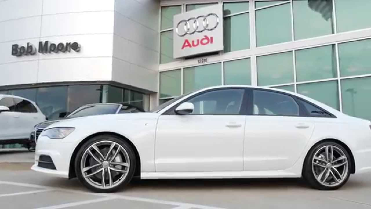 2016 Audi A6 Showroom Bob Moore Oklahoma City Youtube