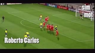 Красивые финты футбольных легенд