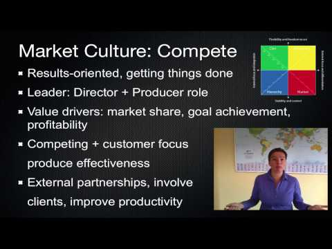 Organizational Culture Change 5: Competing Values Framework