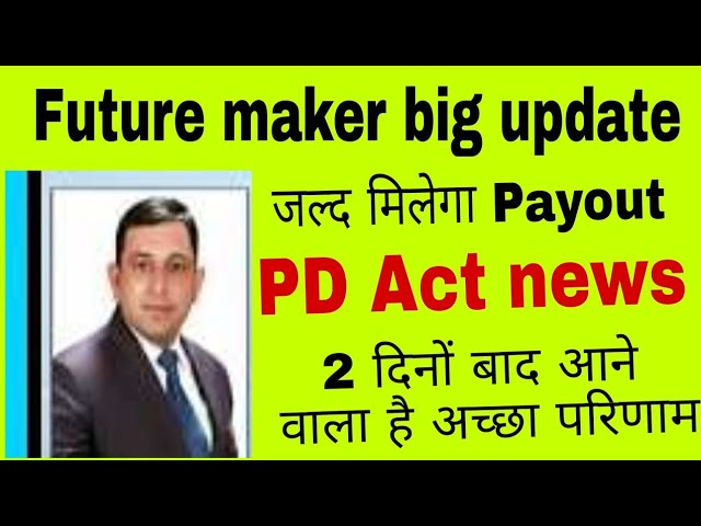 Future maker big update