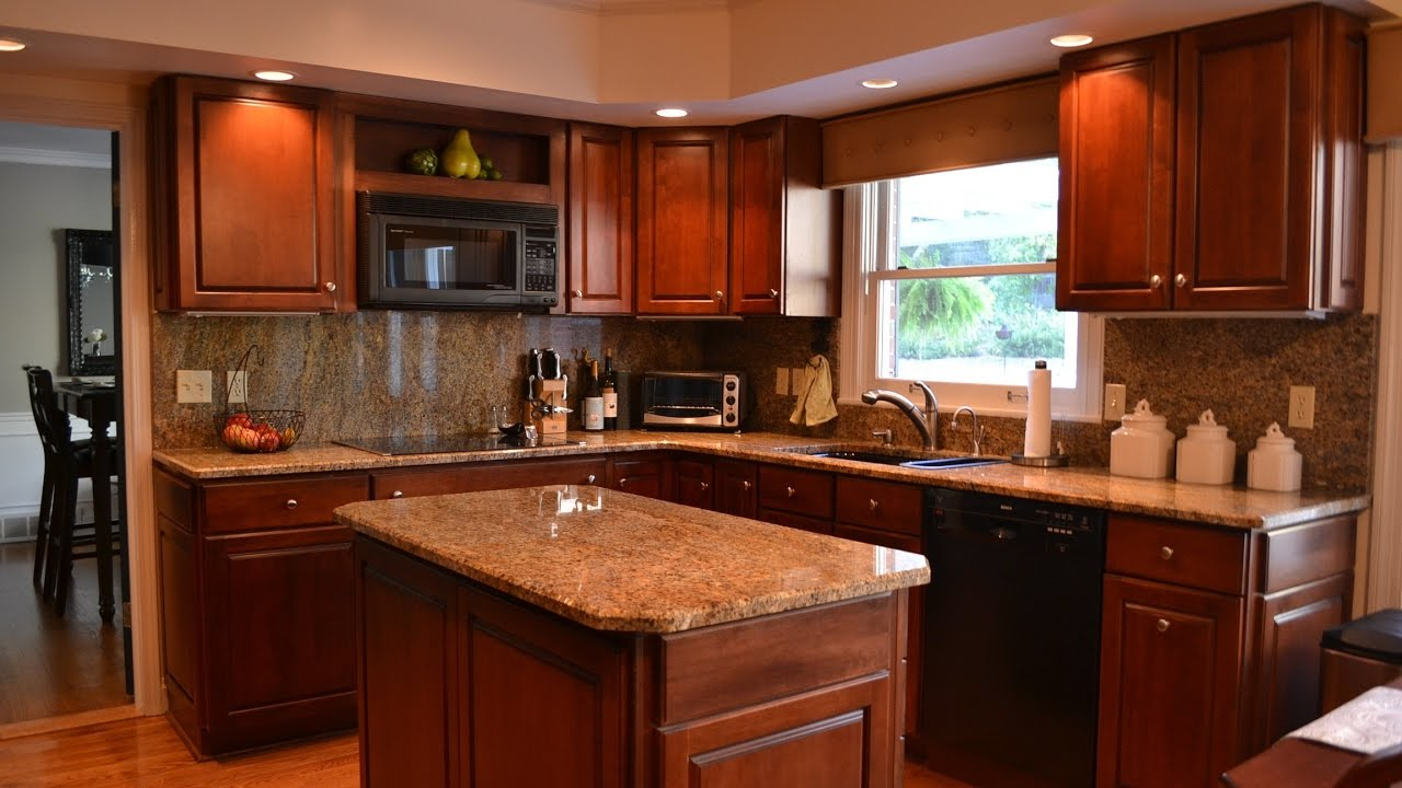 l shaped kitchen with island and corner pantry youtube on beautiful kitchen pictures ideas houzz id=22423