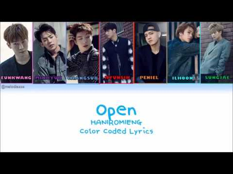 HAN|ROM|ENG] BTOB - Open Lyrics - YouTube
