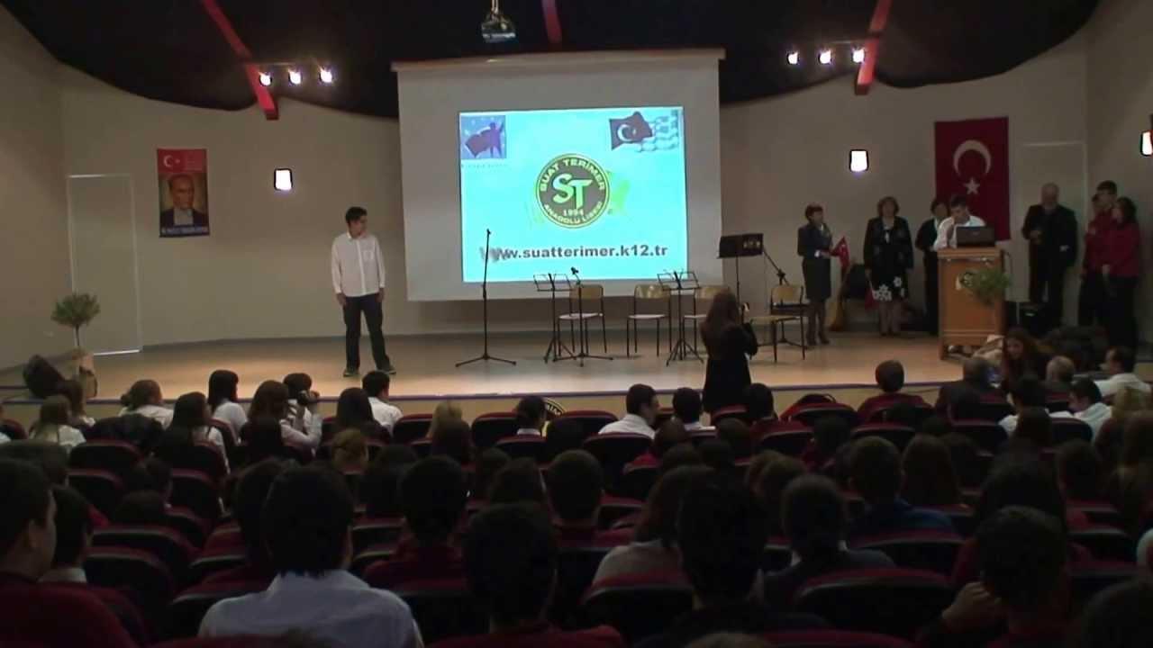 armenio high school presentation at suat terimer auditorium youtube