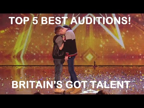 Top 5 Best Britain's Got Talent Auditions - The Most Viewed Auditions On Britain's Got Tallent 2014