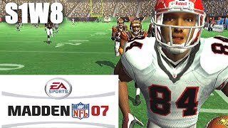 GETTING MOSS'D - FALCONS FRANCHISE MADDEN 07 PS2 VS BENGALS