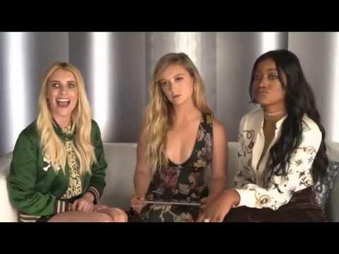 Emma Roberts, Billie Lourd & Keke Palmer talking about Season 2 of Scream Queens