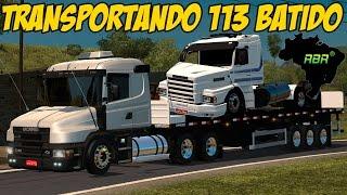 CONJUNTO DEBORA - TRANSPORTANDO SCANIA 113 BATIDA - LOGITECH G27!!!