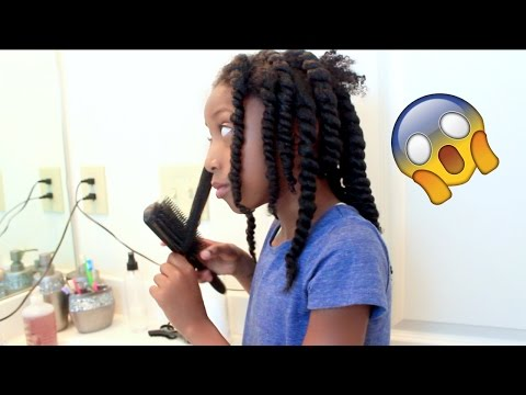 7-year-old-styles-her-own-hair little-girls-natural-hair-protective-style
