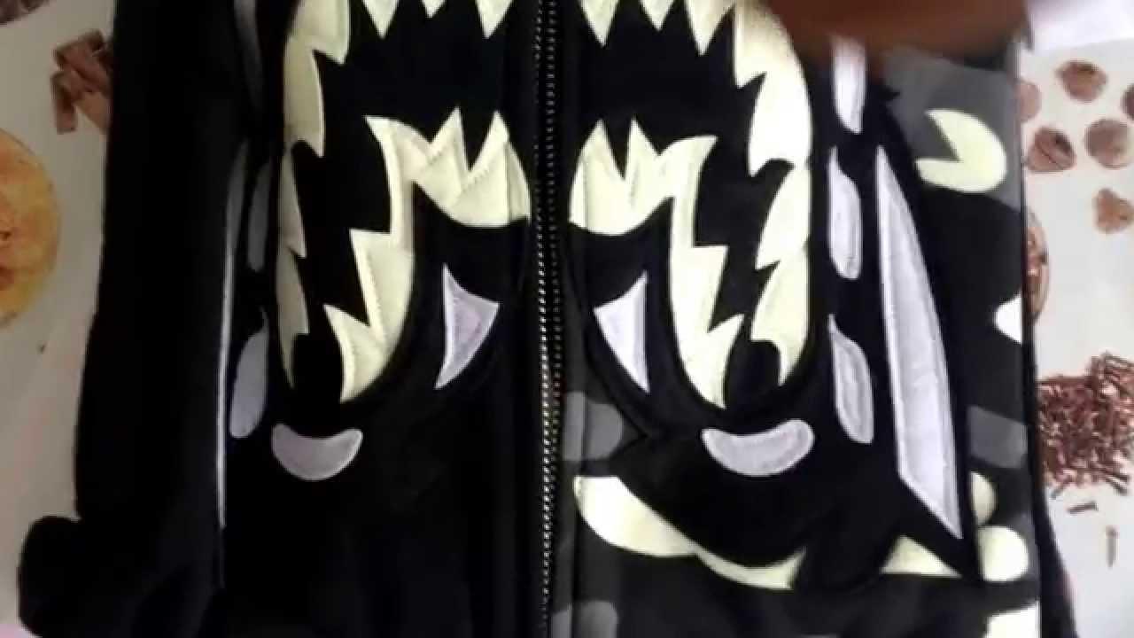 c494075680dc Replica Bape Shark Hoodie  UNHS  - YouTube