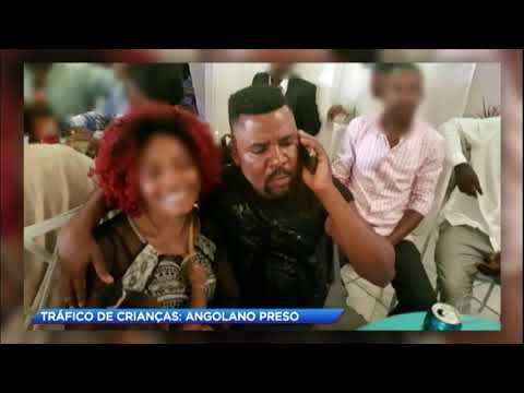 Angolano é preso por tráfico de crianças