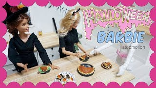 Barbie doll stop motion - Halloween Party