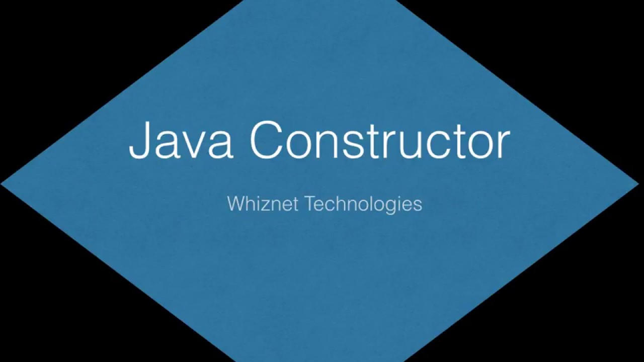 Java constructor tutorial simple and easy great for java learners java constructor tutorial simple and easy great for java learners baditri Image collections