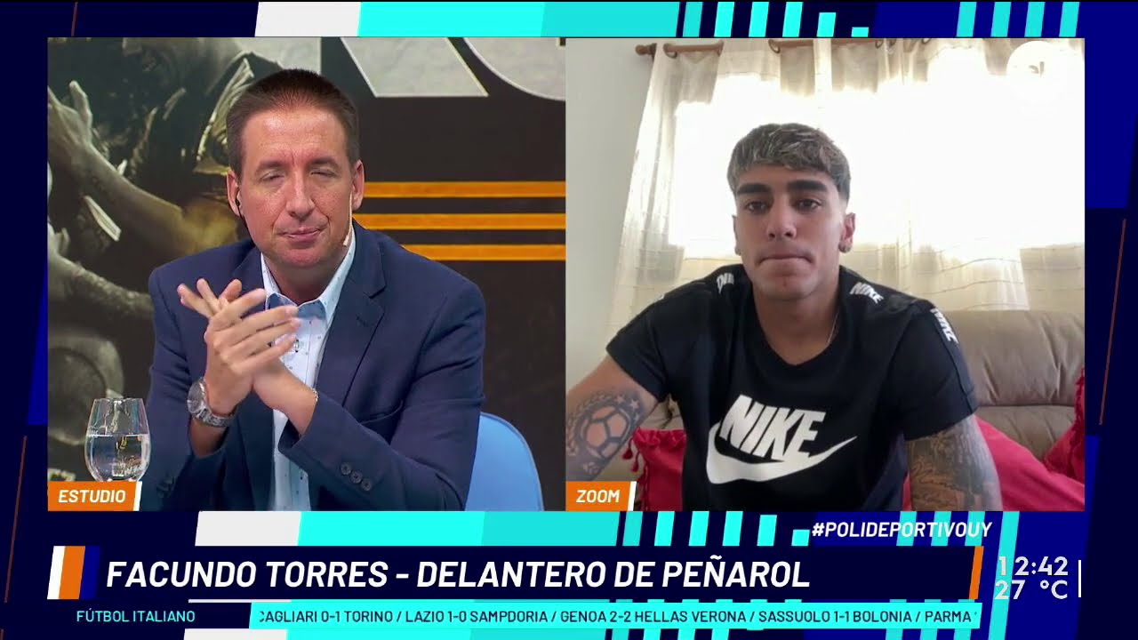 """Facundo Torres: """"El recibir muchas faltas me dice que estoy jugando bien"""""""