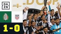 Mexiko schlägt Erzrivale USA im Finale: Mexiko - USA 1:0 | Gold Cup | DAZN Highlights