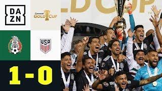 Mexiko schlägt Erzrivale USA im Finale: Mexiko - USA 1:0   Gold Cup