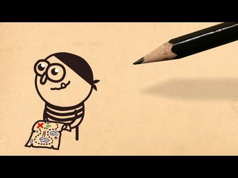 X Marks the Spot | Pencilmation Cartoon #33