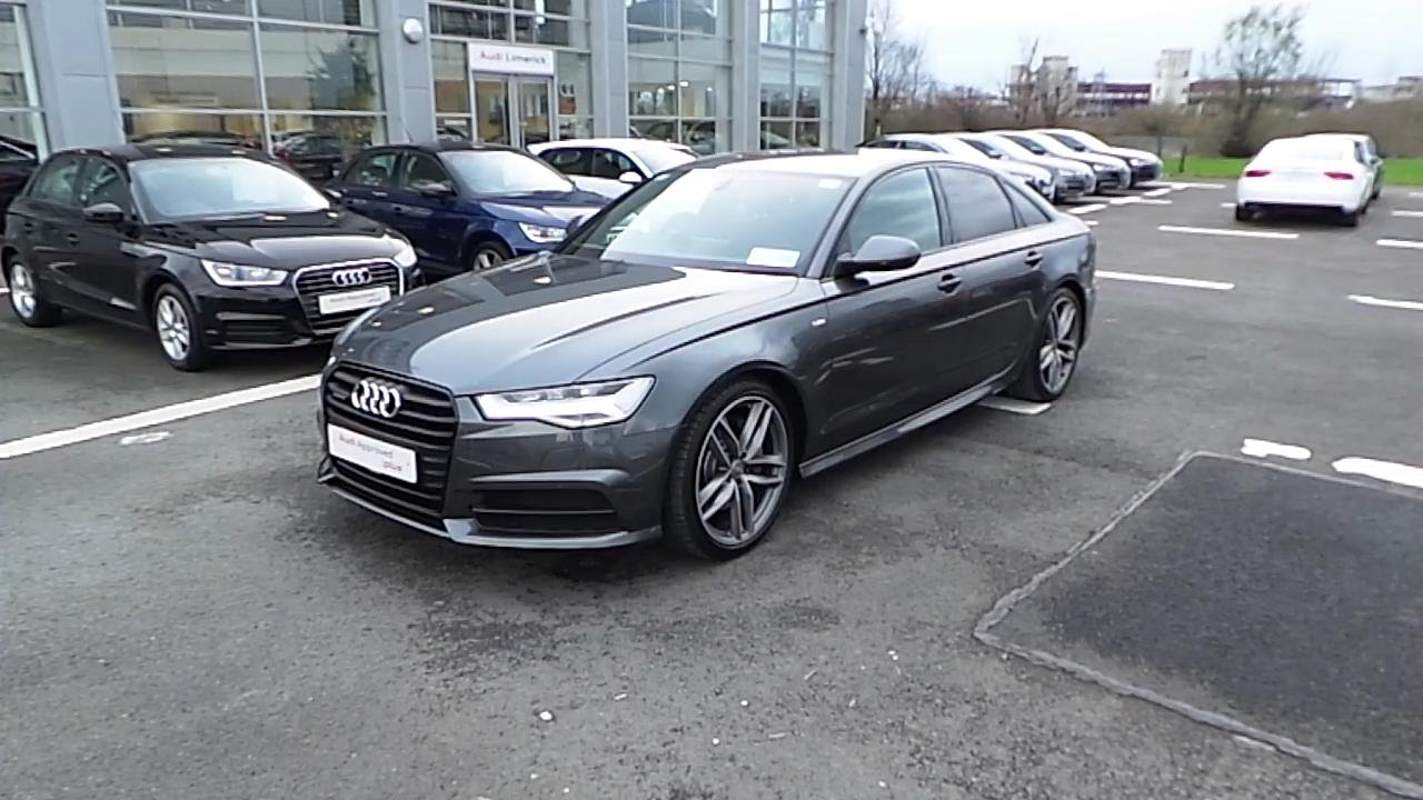 161d3164 2016 audi a6 3 0tdi v6 272 s line quattro s tronic youtube. Black Bedroom Furniture Sets. Home Design Ideas