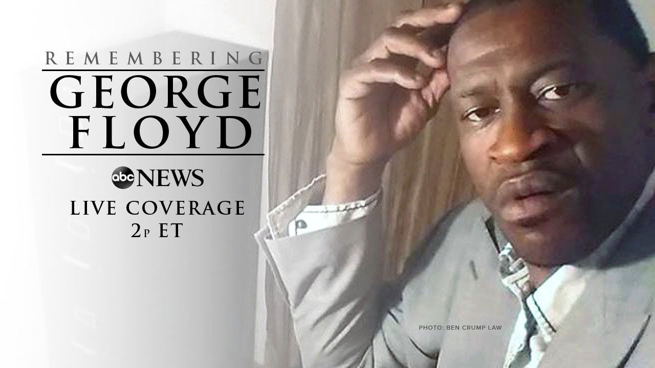 Memorial Service For George Floyd In Minneapolis Watch Live Youtube