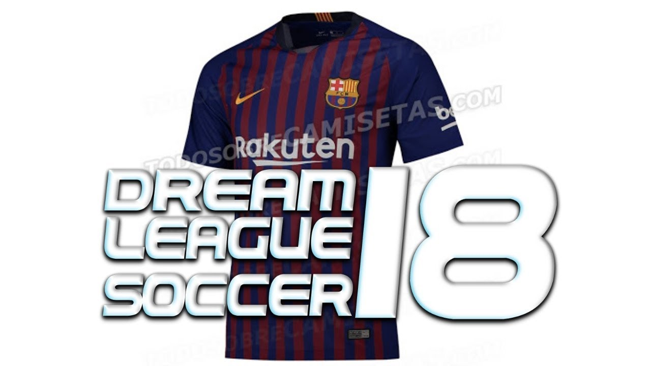 KITS DEL FC BARCELONA 2019 PARA DREAM LEAGUE SOCCER BY WID 10|CHARLY  GAMEPLAYS|