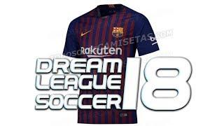 dream league soccer 2018 barcelona kits