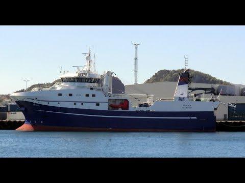Russian Trawler PECHORA, Barents Sea 2016