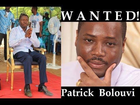 La justice française recherche le demi-frère de Faure Gnassingbe,  Mr Patrick Bolouvi