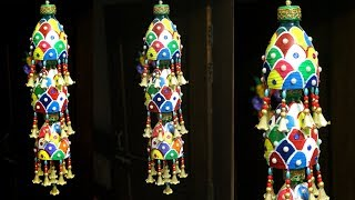 DIY - How to recycle plastic bottles at home for home decor - Plastic Bottle Craft - Recycling Ideas