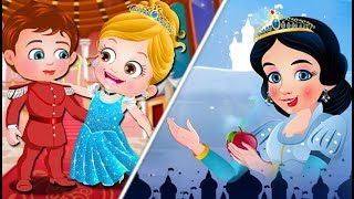Snow White Story & Cinderella Story | Baby Hazel Fairy Tale Games Collections For Kids