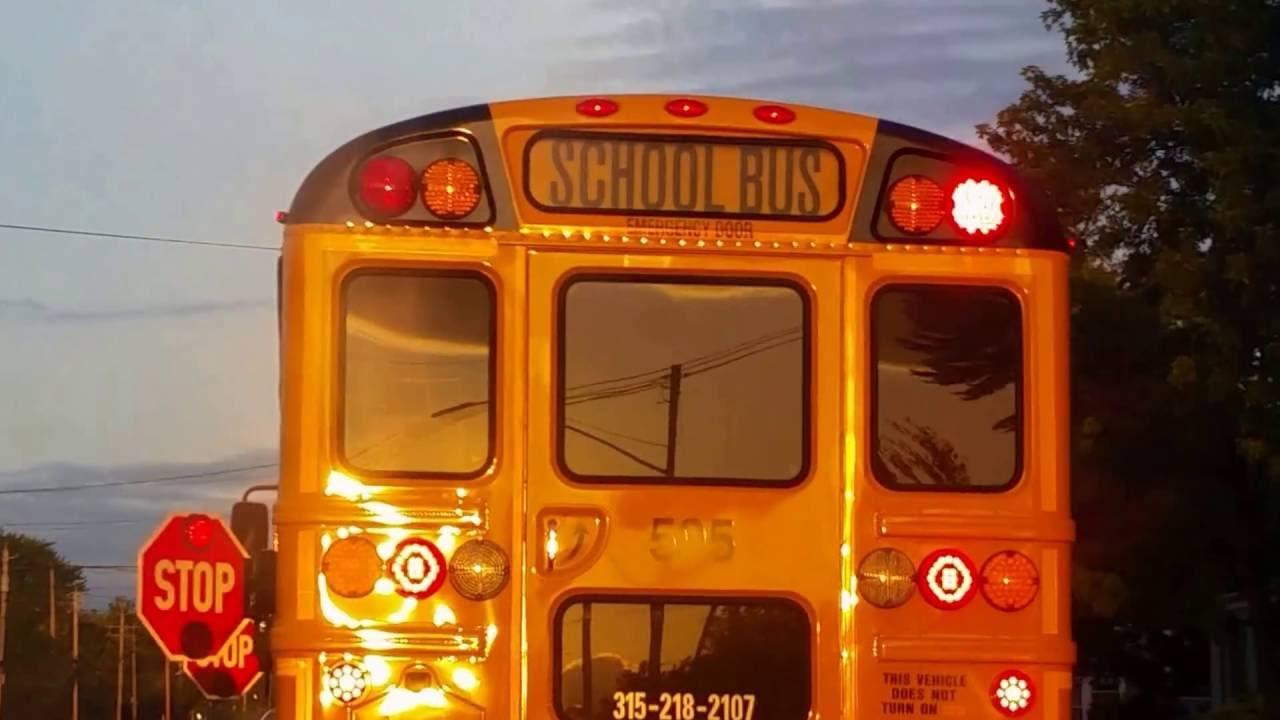 bus 595 warning lights 2017 ic ce youtube