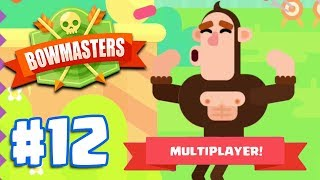 MULTIPLAYER WITH MR MOYER!   Bowmasters - Multiplayer Game Part 12   All Characters