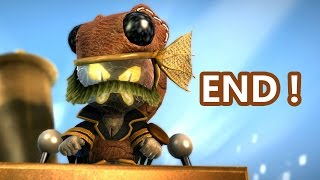 LittleBigPlanet 3 - FINAL BOSS / ENDING 100% Walkthrough - Even Bosses Wear Hats  - LBP3 PS4