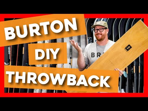 2020 Burton DIY Throwback Snowboard