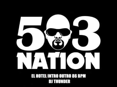 Mr Pelon 503 el hotel Intro Outro Bpm 86 DJ Thunder remix