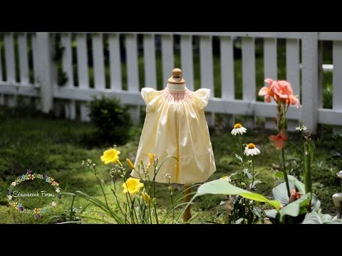 Smocked Bishop Tutorial With Angel Sleeves   Children's Corner Gwen View B