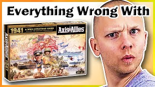 Everything Wrong With Axis & Allies 1941