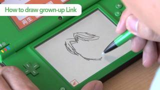 Flipnote Studio (DSiWare) How to Draw Link