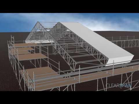 CLEARSPAN   SSP ROOF ANIMATION HD 1080p