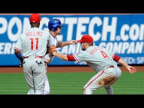 MLB Unassisted Triple Plays (RARE)