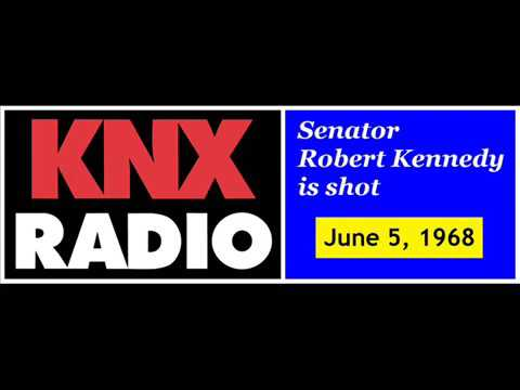 RFK Assassination Coverage KNX Radio news