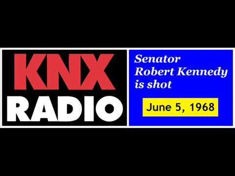 RFK Assassination Coverage KNX Radio news