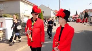 Mi-Carême de Chagny 2012 - Les Percuvifs du Val de Saône