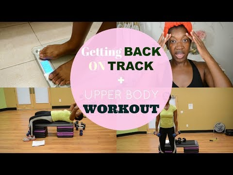 I Messed Up | Getting Back On Track & Cold Showers  + Upper Body Workout Vlog | That Fit Life - Ep 1