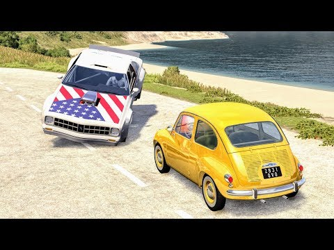 High Speed Traffic Crashes #1 - BeamNG Drive | CrashBoomPunk
