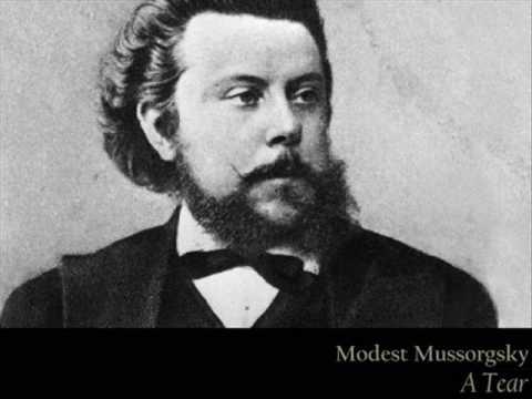 Mussorgsky - A Tear